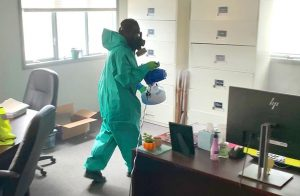 Disinfecting Office